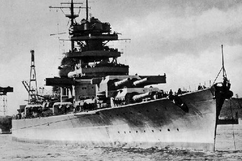 قصة مطاردة واغراق البارجة الاسطورة بسمارك Bismarck