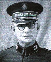 David Wickberg 1944 im aktiven Dienst zurückgezogen