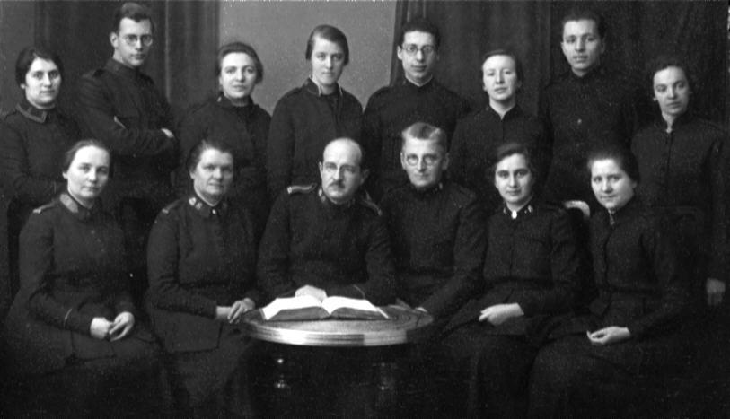 Force Academy Team in Berlin 1925