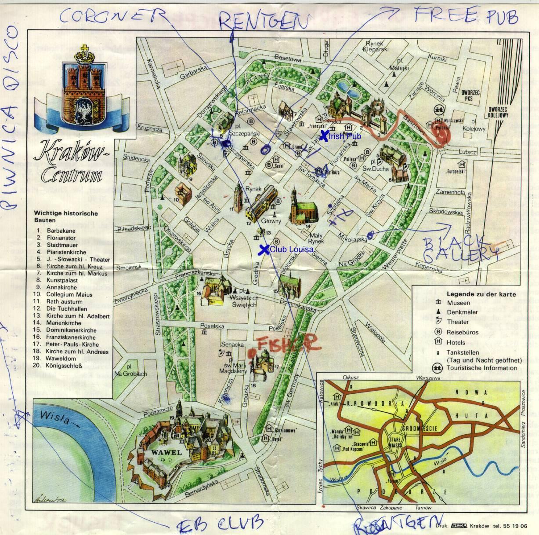 krakow karta polen Polen reprisluff  97 krakow karta polen