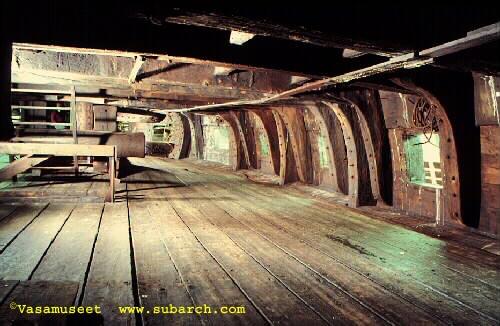 Lower Gun Deck Starboard