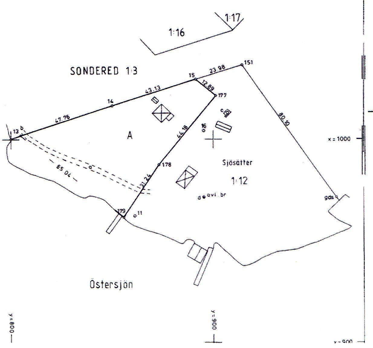 tomtgränser karta Ferienhaus tomtgränser karta
